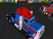 18 Wheeler 3D icon