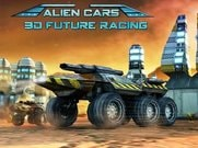 Joue àAlien Cars 3D Future Racing