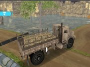 Joue Army Cargo Truck Drive