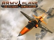 Joue àArmy Plane Flight 3D Simulator