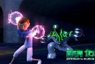 Joue Ben 10 Destroy All Aliens