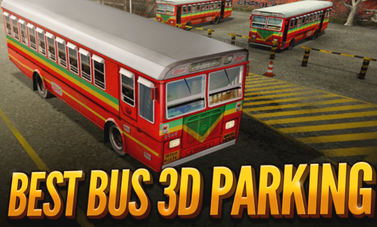 Joue à Best Bus 3D Parking