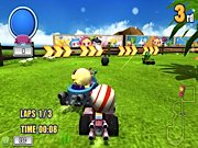 Joue àBomb it Kart Racer