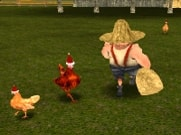 Joue à Chicken Run