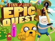 Joue àFinn & Jake's Epic Quest