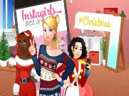 Joue àInstagirls Christmas Dress Up