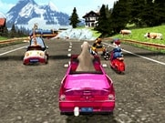 Joue à Madagascar 3 - race across europe