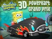 Joue à Spongebob powerkart grand prix
