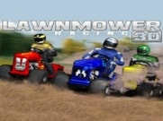 Joue àLawnmower Racing 3D