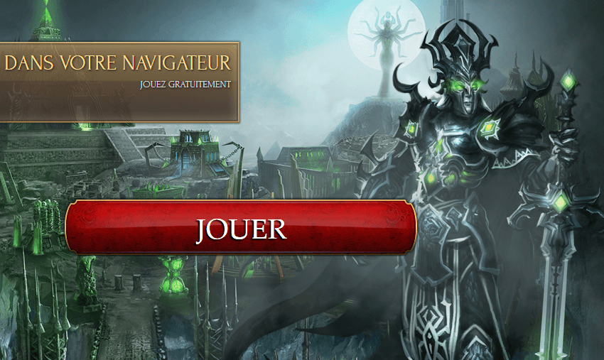 joue à  Might and Magic Heroes