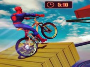 Joue à Superhero Bmx Space Rider