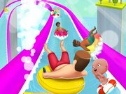 Joue Waterpark Slide.io online